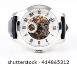 automatic men watch with... | Shutterstock . vector #414865312