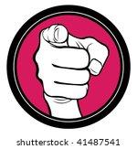 hand | Shutterstock .eps vector #41487541