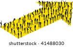 arrow people | Shutterstock .eps vector #41488030