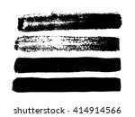 modern brush strokes. vector... | Shutterstock .eps vector #414914566