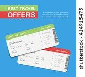 advertising of the travel... | Shutterstock .eps vector #414915475
