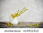 Still Life With Spring Flowers