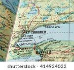toronto  canada   circa april...   Shutterstock . vector #414924022