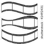 Editable Film Stripes