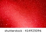 red bubble background with... | Shutterstock . vector #414925096