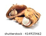 baseball glove and ball... | Shutterstock . vector #414925462