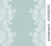 seamless lace border. vector... | Shutterstock .eps vector #414930292