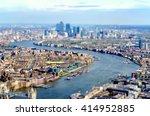 Panoramic View Of London  Uk ...