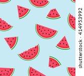 cute seamless vector pattern... | Shutterstock .eps vector #414953992