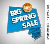 big spring super sale ever... | Shutterstock .eps vector #414960406