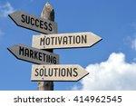 success  motivation  marketing  ... | Shutterstock . vector #414962545
