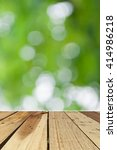 wood texture and out of focus... | Shutterstock . vector #414986218