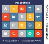 web icon set. multicolored...