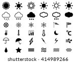 weather vector burst icon set...