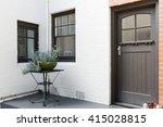 entry porch and front door of... | Shutterstock . vector #415028815