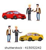 design concept of choice car... | Shutterstock .eps vector #415052242
