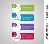 vector infographics of...   Shutterstock .eps vector #415058122