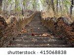 Old Stone Stairway Step Throug...