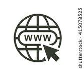 website icon jpg | Shutterstock .eps vector #415078525