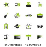 travel icon set for web sites...   Shutterstock .eps vector #415095985