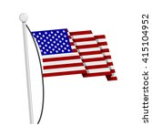 usa flag | Shutterstock .eps vector #415104952