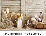 Rustic Kitchen Still Life  Wir...