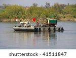 River boat - stock photo