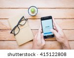 chiangmai  thailand   march 12  ... | Shutterstock . vector #415122808