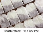 tea bags  closeup | Shutterstock . vector #415129192