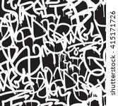graffiti background seamless... | Shutterstock .eps vector #415171726