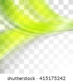 bright green soft abstract... | Shutterstock .eps vector #415175242