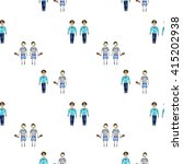 brothers pattern  hand drawn... | Shutterstock . vector #415202938
