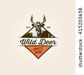 wild nature logo template   Shutterstock .eps vector #415203658