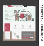 website design template. modern ...
