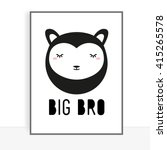 cute children's poster | Shutterstock . vector #415265578