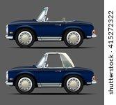 vector modern cartoon car | Shutterstock .eps vector #415272322