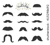 vector set of different... | Shutterstock .eps vector #415298692