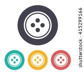 vector flat tailor button icon... | Shutterstock .eps vector #415299166