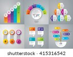 infographic design vector and... | Shutterstock .eps vector #415316542