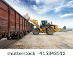 Loader loads the wagon train...