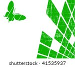 the green vector abstract... | Shutterstock .eps vector #41535937