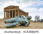 Concordia Temple. Icarus Statue....