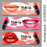 choosing right color shade... | Shutterstock .eps vector #415390552