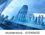 abstract modern city background ...