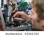 technology and development... | Shutterstock . vector #41541154