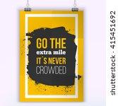 vector inspirational quote go...   Shutterstock .eps vector #415451692