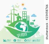 environment | Shutterstock .eps vector #415458766