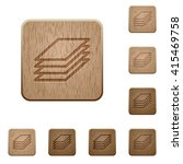 set of carved wooden printing...