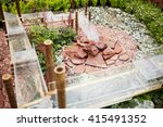 System Of Water Cascade Made O...