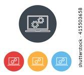 line icon  computer | Shutterstock .eps vector #415503658